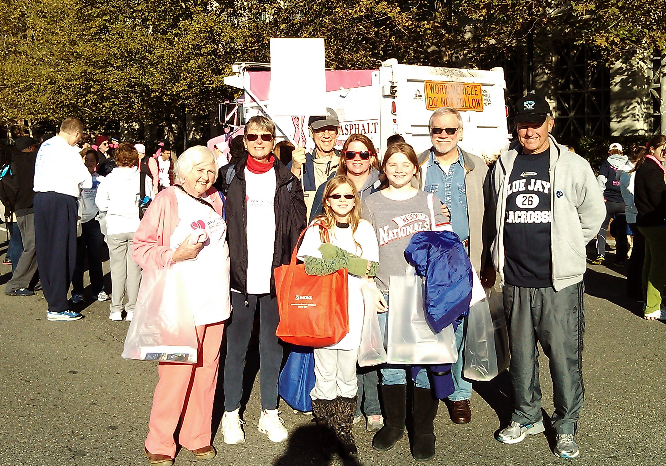 Breast Cancer Walk Group